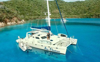Catamaran SEA CHATEAU available in the BVI!